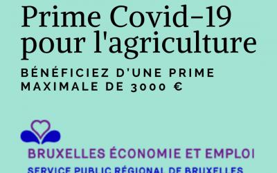Prime Covid-19 pour l'agriculture