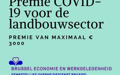 Premie COVID-19 voor de landbouwsector